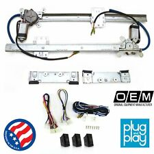 Ford Truck F Series (3rd Gen) 1957 - 1960  Power Window Kit w/ 3 LED Switches