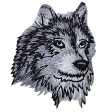 """Wolf Applique Patch - Coyote, Animal Badge 2.25"""" (Iron on)"""