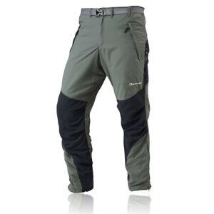 Montane Mens Terra Activity Regular Leg Fit CORDURA Green Black Bottoms Pants