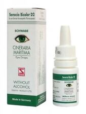 3 packs  Cineraria Maritima Schwabe Eye Drops - Without Alcohol -10ML fast ship