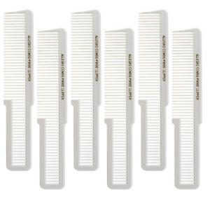 Allegro Combs 9000 Barber Clipper Cutting Combs Blending And Flat Top Combs Fade