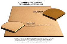 ISOLANTE ACUSTICO  in PANNELLO AUTO-ADESIVO per PARETI LEGGERE ISO120 8MM