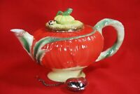 Pier 1 POPPY Teapot With a Free Tea Infuser Included Holds 2 Cups