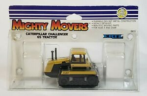 Cat / Caterpillar Challenger 65 Track Tractor By Ertl Mighty Movers 1988