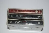 Lot of 3 Van Halen Cassette Tapes - Live Right Here, Right Now & For Unlawful Ca