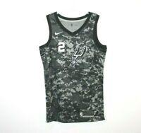San Antonio Spurs Kawhi Leonard City Edition Jersey Nike Swingman Sz Men's S+2