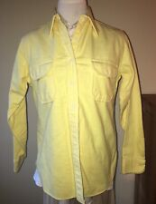 Vintage Woolrich cotton Flannel Shirt Small Made in US