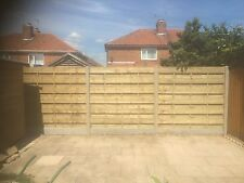 Wooden Fence Panels Ranch Style Tanalised Pressure Treated Timber