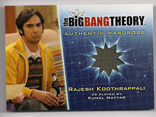 Big Bang Theory Season 5 Costume Card M10 Rajesh Koothrappaili