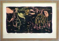 André MARCHAND (1907-1997) Lithographie signée & justifiée Les Baigneuses noires