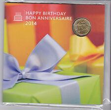 Canada 2014 Happy Birthday coin set sealed