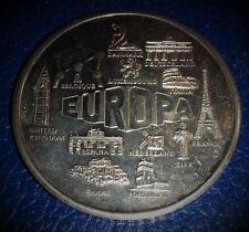 MEDAILLE EUROPA 2000 : NAISSANCE DE L'EURO