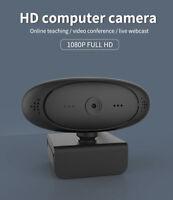 Mini PC Webcam 1080P Web Cam Auto Focus Full HD USB laptop Camera + Microphone