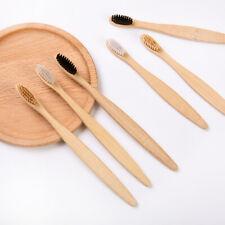 Biodegradable Natural Bamboo Toothbrush Eco Friendly Soft Bristles Organic UK