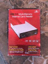 Vantec Multi-Memory Internal Card Reader USB 3.0 eSATA and Audio Ports UGT-CR961