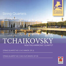 Tchaikovsky / New Ph - String Quartets 1 & 3 [New CD] Jewel Cas