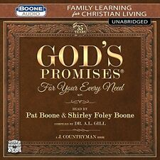 Pat Boone / Shirley - God's Promises For Your Every Need [New CD]