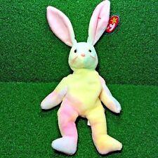 "Rare 1998 Ty Beanie Baby Hippie Rabbit Easter Bunny NEW Retired ""Gasport"" - MWMT"