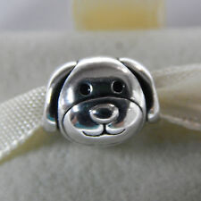 New Authentic Pandora Charm 791707 Sterling Silver Devoted Dog Box Included