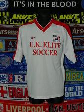 5/5 UK Elite Soccer adults XL retro rare football shirt jersey trikot mint