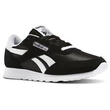 64e7d5335d5 Reebok Royal Nylon BD1553 Black White Mens Running Shoes Sneakers Sizes