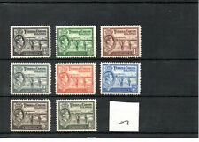 Turks & Caicos - George V1 (07) 1938 - Definitives 8 values - mint - SG Cat £24