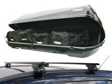 Vauxhall Zafira 2007-2016 | Roof Rack Rail Bars & Thule Ocean 200 Roof Top Box
