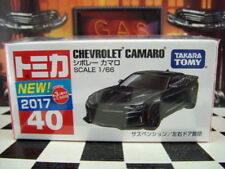 TOMICA #40 CHEVROLET CAMARO 1/66 SCALE NEW IN BOX