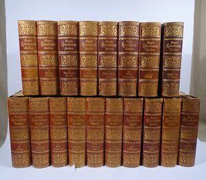 Meyers Konversationslexikon Nachschlagewerk 1893 Jugendstil 5. Auflage 18 Bände