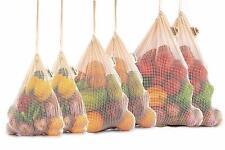 Reusable Mesh Produce Bags - Organic Cotton Vegetable Bags - Mesh Produce Bag -