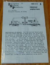 Islington Station Products HO #260-212A Freeport Sulphur Tank