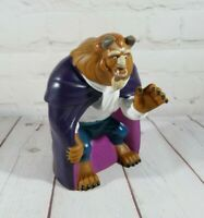 """DISNEY Beauty & the Beast Collectible Rubber Figure Hand Puppet TOY The Beast 7"""""""