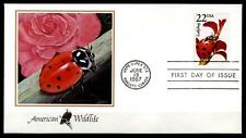 Insekten. Marienkäfer. FDC. USA 1987