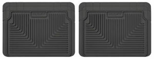 Husky Liners Heavy Duty 2nd Or 3rd Seat Floor Mats for 87-04 Ford Mustang & More