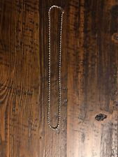 """18"""" Gold Rope Necklace"""
