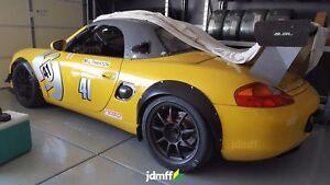 "Fender flares for Porsche Boxster JDM wide body kit Cayman ABS 2.0"" + 3.5"" set"