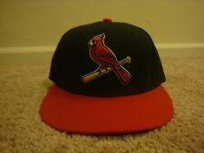 VTG St. Louis Cardinals New Era 7 1/8 hat cap Cool Base Bird On Field Alternate