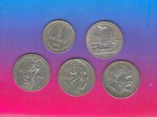 lot van 5 munten van Rusland ,groot model ,zie foto's,,Nr 3035 ,,,