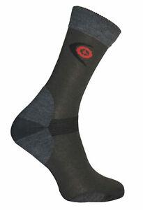 Hiking Trekking Light Socks Endurance Merino Wool Coolmax Outdoor Anthra 3 sizes