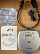 Jwin Personal Cd Player Jx-Cd255 Dynamic Bass Boost System. Vintage. New Sealed