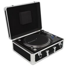 Gorilla Universal DJ Turntable Vinyl Record Deck Flight Case / Carry Case