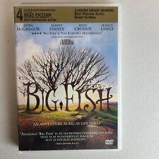 New listing Big Fish Ewan McGregor 60% Off 4+ Dvd $2 Each