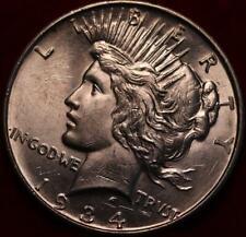 Uncirculated 1934-D Denver Mint Silver Peace Dollar