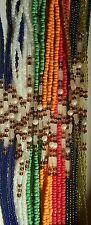 Glow in the dark piece african waist bead