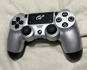 GRAN TURISMO SPORT GT SILVER OFFICIAL GENUINE SONY PS4 DUALSHOCK 4 CONTROLLER