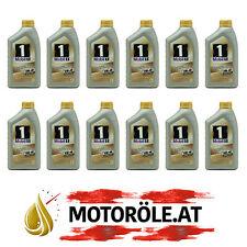 12 Liter Mobil 1 FS 0W-40 Motoröl - MB 229.5, Porsche A40 (ehem. NEW LIFE) 12x1l