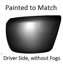 2007-2013 Silverado PAINTED Front Bumper DRIVER Corner End Cap (no Fogs) NEW