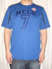 New York Knicks MELO 7 Carmelo Anthony NBA Majestic Cool Base Mens T-Shirt Large