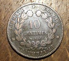PIECE DE 10 CENTIMES CÉRÈS 1896 FAISCEAU (158)
