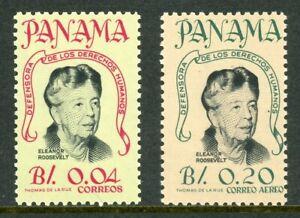 Panama Scott #455//C330 MNH Eleanor Roosevelt $$